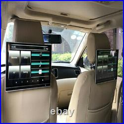 1Pc 12.5in External Car Headrest Android Monitor DVD Player Display Screen Touch