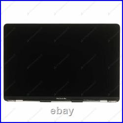 Apple Macbook Pro A1708 Silver Screen LCD Assembly Display Complete Top Part