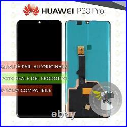 Display Huawei P30 Pro Oled Amoled Vog-l09 Vog-l29 Vog-l04 Schermo Touch Screen
