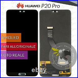 Display LCD Oled Huawei P20 Pro Clt-l09 Clt-l04 L29 Touch Screen Schermo Vetro