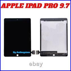Display Touch Screen Apple Ipad Pro 9.7 A1673 A1674 A1675 Nero Schermo Vetro