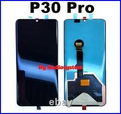 Display Touch Screen Originale Huawei P30 Pro Vog-l29 Nero Vetro Schermo Oled