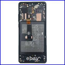 For Huawei P30 Pro VOG-L09 Black LCD Screen Replacement Display Frame