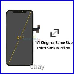 For iPhone 11 Pro Max Screen Replacement LCD Display Touch Digitizer OLED Black