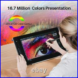 Huion Kamvas PRO 16 Drawing Display Art TABLET Graphic 15.6 Screen Shortcut Key
