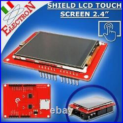 Modulo Shield Display LCD a colori 240x320 2,4 TFT TOUCH screen Arduino ILI9341