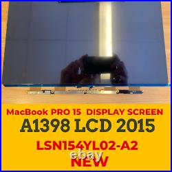 NEW 2015Year A1398 LCD Display Screen for Macbook Pro Retina 15.4'' A1398 LCD