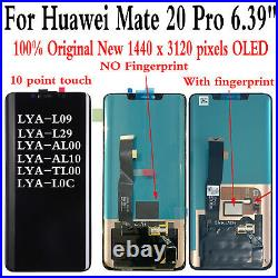 OEM For Huawei Mate 20 Pro LYA-L09 LCD Display Touch Screen Replacement Assembly