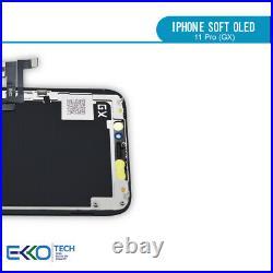 Original Display für iPhone 11 Pro Soft OLED GX Bildschirm Touchscreen 3D OEM