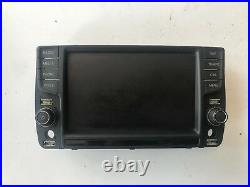 Vw Golf Mk7 Gtd Gti Discover Pro Mib2 8'' System Display Screen 5g0919606